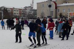 Лыжные гонки на Масленицу