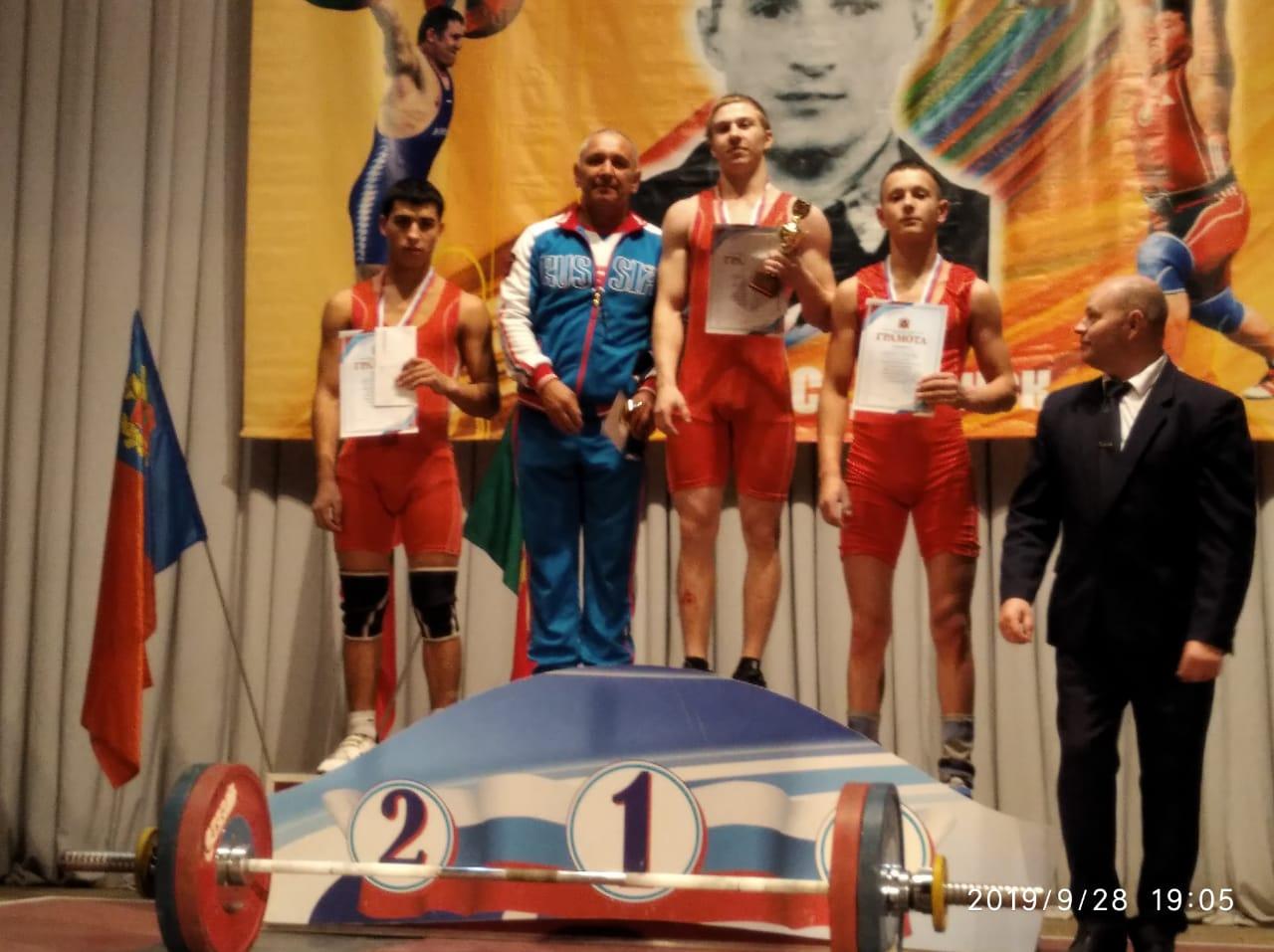 Первенство Кемеровской области по тяжёлой атлетике ЛК УОР