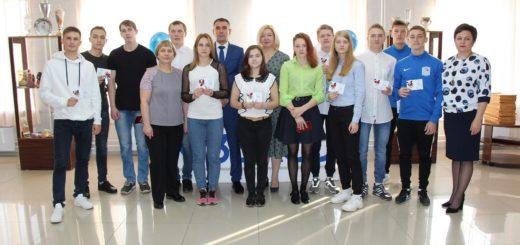 Награждение студентов золотыми знаками ГТО